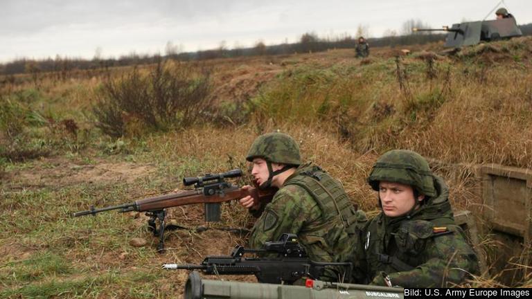 Litauen är det land i Europa som under senaste året ökat sina militära utgifter mest. Foto: U.S. Army Europe Images