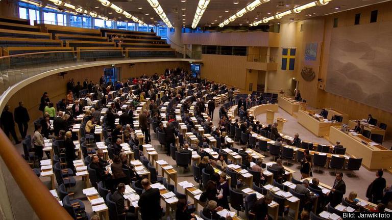 Den 8 juni går EU-kommissionens förslag till debatt och beslut i riksdagen. Arkivbild.