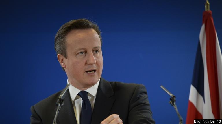 Storbritanniens premiärminister David Cameron. Arkivbild.