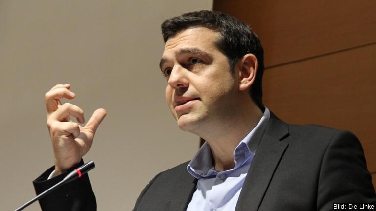 Den grekiske premiärministern Alexis Tsipras. Arkivbild.
