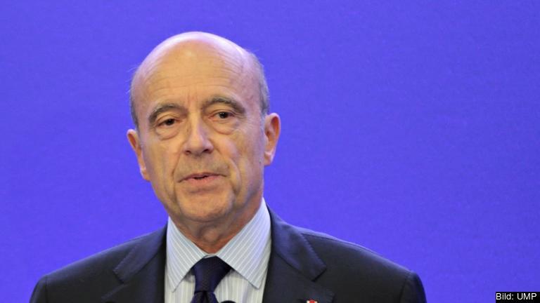 Alain Juppé vill bli Frankrikes näste president. Arkivbild.