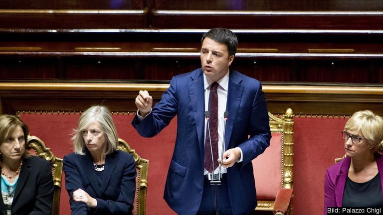 Matteo Renzi lägger fram sin plan för de kommande tusen dagarna.