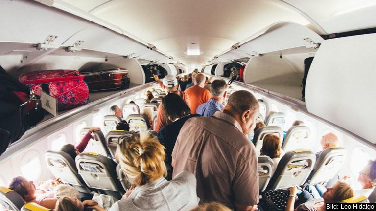 PNR står för Passenger Name Record och innehåller information om passagerna som insamlas av flygbolag. Arkivbild.