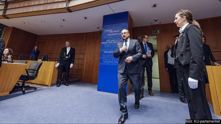 EU-parlamentets talman har varit parlamentariker sedan 1994. Arkivbild.