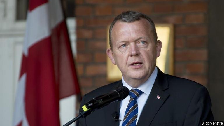 Statsminister Lars Løkke Rasmussen förespråkar ett ja i folkomröstningen 3 december. Arkivbild.