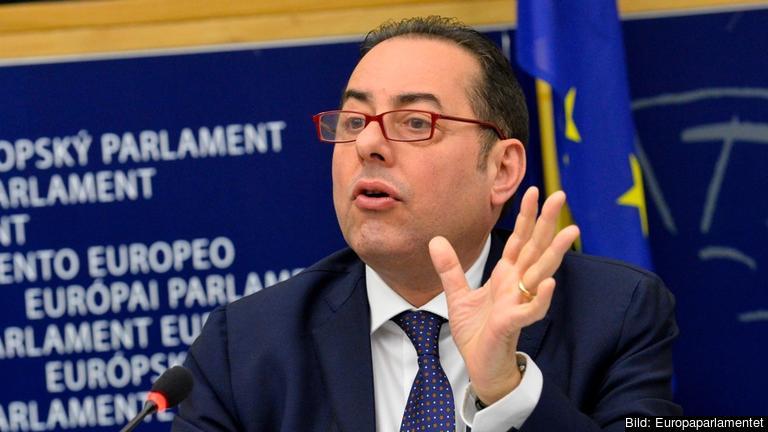 S&D-ordföranden Gianni Pittella. Arkivbild.