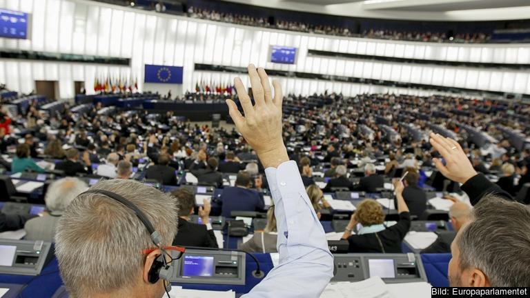 EU-parlamentet. Arkivbild.