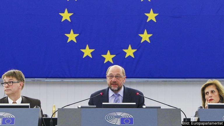 Med hänvisning till artikel 175 i EU-parlamentets arbetsordning skjuter talman Martin Schulz upp onsdagens omröstning om en TTIP-resolution.