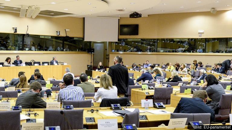 EU-parlamentets miljöutskott. Arkivbild.