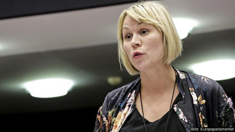 Miljöpartiets EU-parlamentariker Linnéa Engström. Arkivbild.