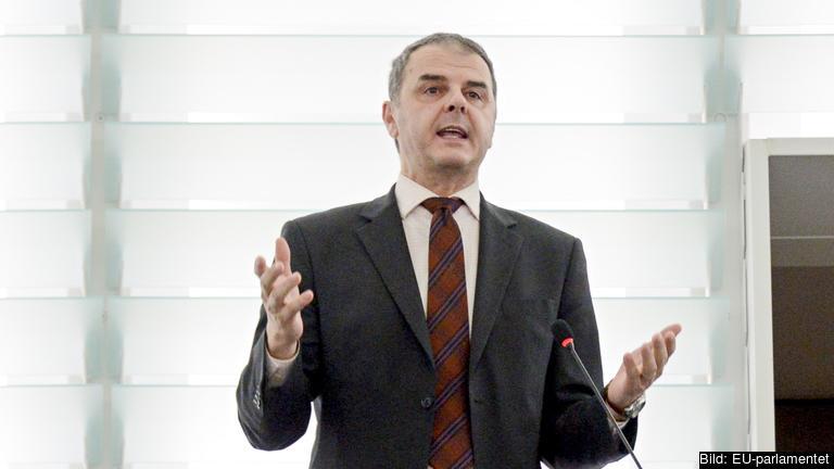 Liberalerna EU-parlamentariker Jasenko Selimović. Arkivbild.