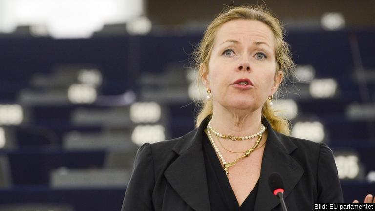 Cecilia Wikström (L) ansvarar för arbetet med asylförslaget i EU-parlamentet. Arkivbild.