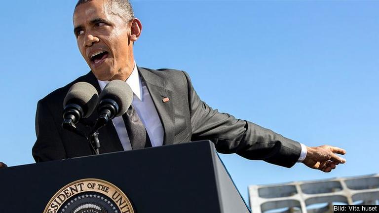 Den amerikanske presidenten Barack Obama. Arkivbild.