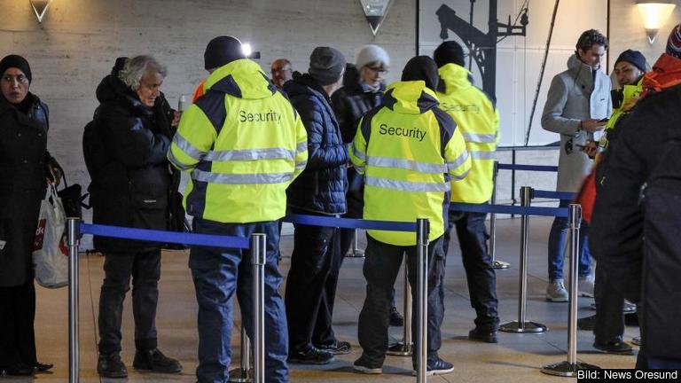 Gränskontroll i Danmark. Foto: News Oresund