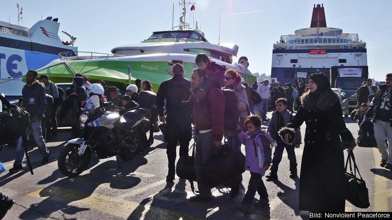 I princip alla migranter som kommit till Grekland ska skickas tillbaka till Turkiet. Arkivbild