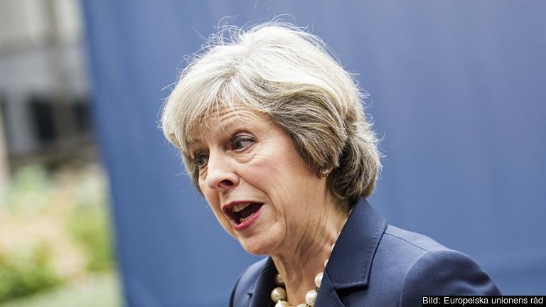 Domen är ett bakslag för premiärminister Theresa May som vill att regeringen ska kunna kringgå parlamentet. Arkivbild.