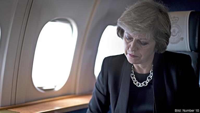 Senast i mars nästa år har premiärminister Theresa May lovat att lämna in utträdesansökan för att lämna EU. Arkivbild.