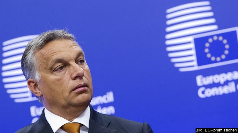 Ungerns konservative premiärminister Viktor Orbán. Arkivbild.