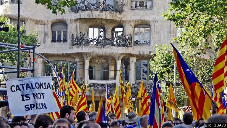 Kataloniens ledare Artur Mas vill att den spanska regionen ska bli självständig inom halvtannat år. Arkivbild.
