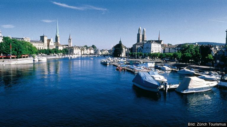 Ettan i rankningen: ZürichFoto: Zürich Tourismus