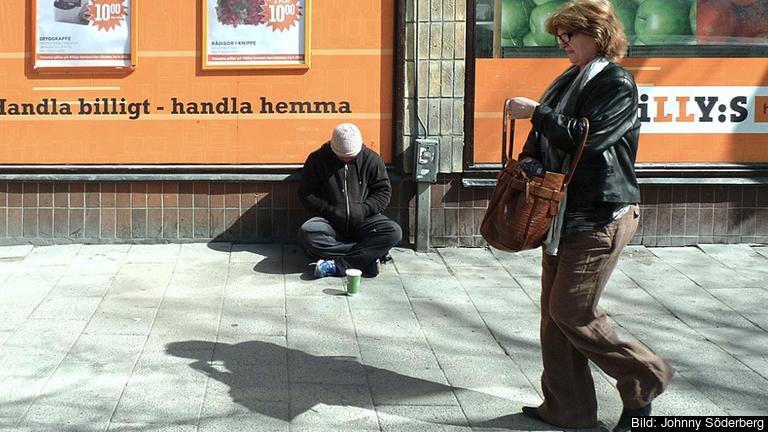 Tiggare i Stockholm. Personerna på bilden har inget med denna artikel att göra.