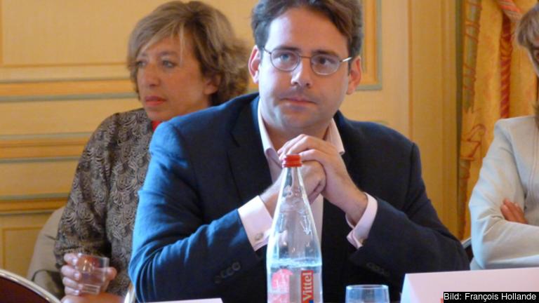 Handelsminister Matthias Fekl. Arkivbild.
