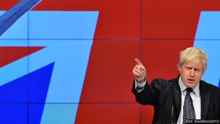 Boris Johnson är ledamot i det brittiska parlamentet och tidigare borgmästare i London. Arkivbild.
