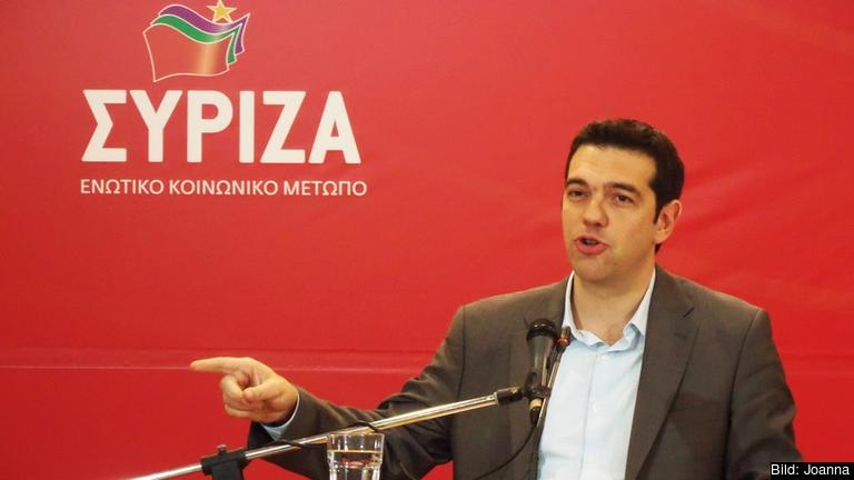 Alexis Tsipras. Arkivbild.