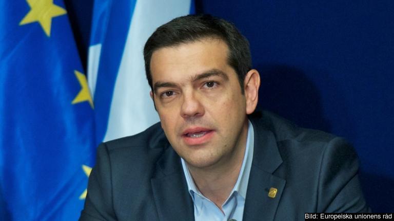 Greklands premiärminister Alexis Tsipras. Arkivbild.