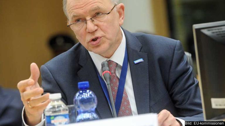 Vytenis Andriukaitis, EU-kommissionär med ansvar för hälsa och livsmedelssäkerhet lägger fram sitt femårsprogram.