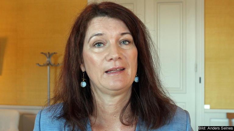 EU-och handelsminister Ann Linde (S) även jobbar med andra frågor än brexit och migration.