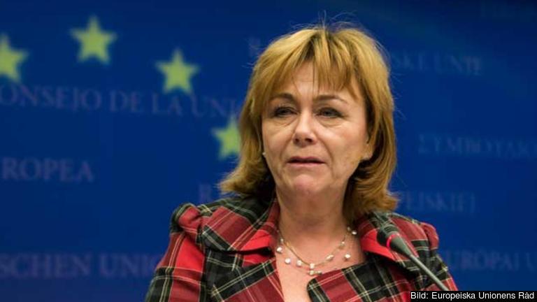 Beatrice Ask var Sveriges justitieminister mellan 2006 och 2014. Arkivbild.