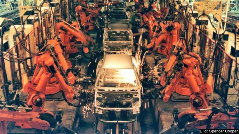 Brittisk bilindustri.