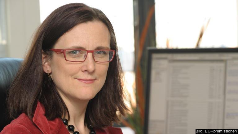 Cecilia Malmström blir Sveriges EU-kommissionär under mandatperioden 2014-2019. Arkivbild.