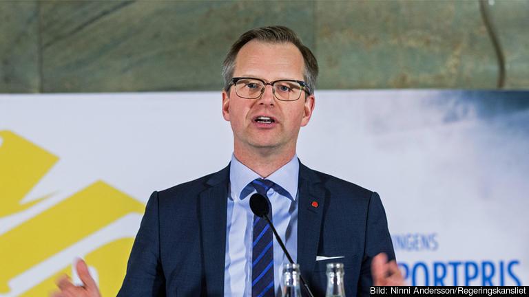 Mikael Damberg (S), närings- och innovationsminister.
