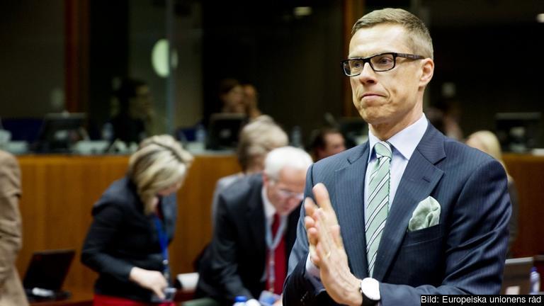 Den finländske statsministern Alexander Stubb lovar bot och bättring. Arkivbild.