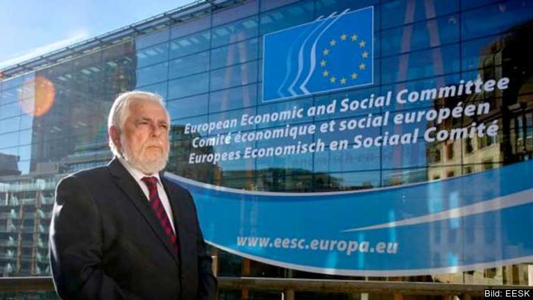 George Dassis, facklig företrädare från Grekland, ny ordförande för EESK.