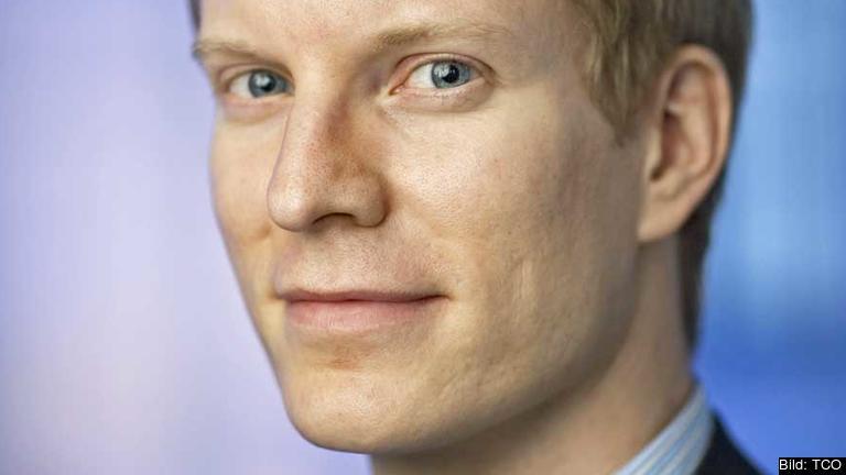 Samuel Engblom, samhällspolitisk chef, TCO.