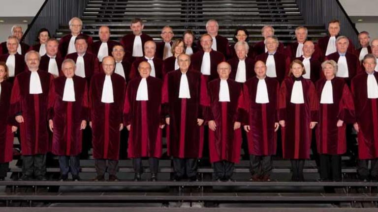 Domarna i EU-domstolen. Arkivbild.
