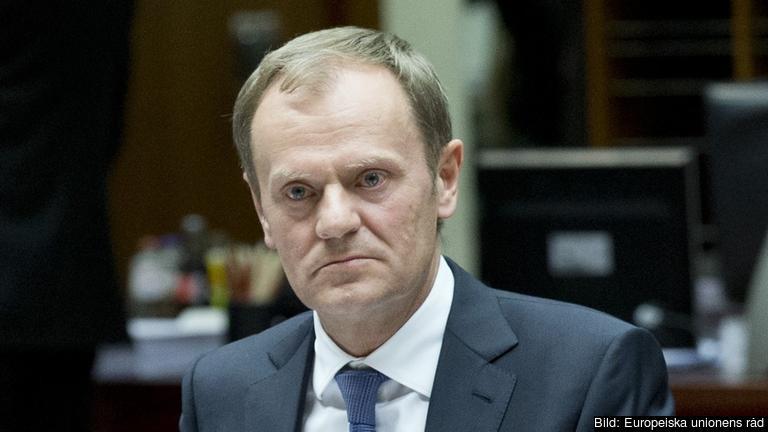 Europeiska rådets ordförande Donald Tusk har utlyst torsdagens EU-toppmöte. Arkivbild.