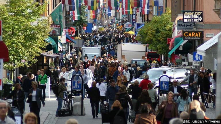 Endast fyra procent av svenskarna anser att de kan påverka EU-beslut. Arkivbild.
