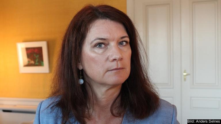 Sveriges EU- och handelsminister Ann Linde (S). Arkivbild.