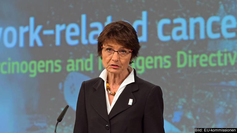 - Målet med mitt förslag om att skärpa EU:s regler mot cancerframkallande kemikalier på arbetsplatsen, skriver EU-kommissionär Marianne Thyssen.