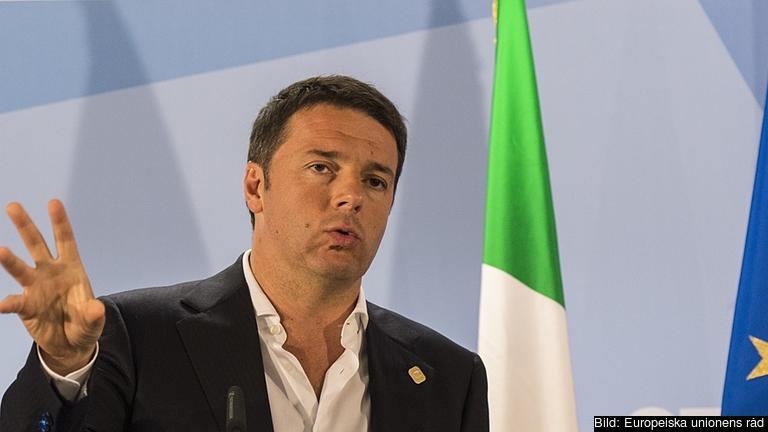 Matteo Renzi är med 39 år EU-ländernas näste yngste premiärminister. Arkivbild.