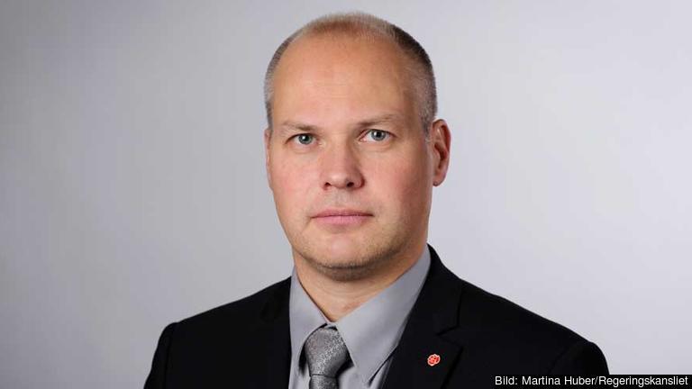 Justitie - och migrationsminister Morgan Johansson (S). Arkivbild.