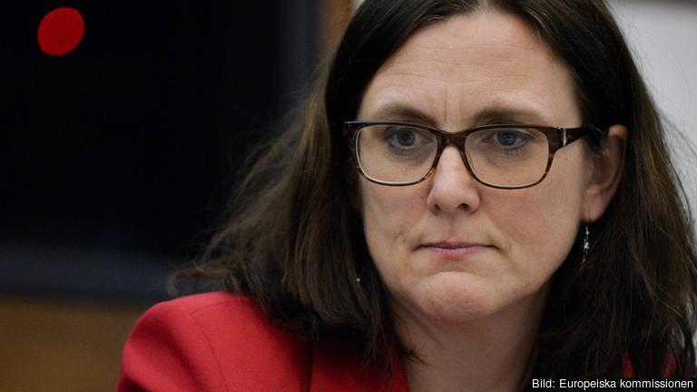Cecilia Malmström blir med största sannolikhet EU:s nästa handelskommissionär. Arkivbild.