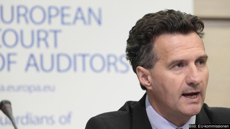 Milan Martin Cvikl vid Europeiska revisionsrätten ansvarar för granskningen av kommissionen. Arkivbild.