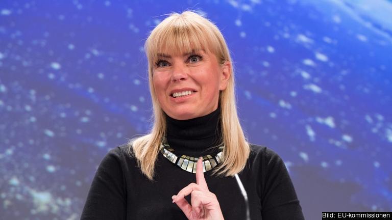 EU-kommissionär Elżbieta Bieńkowska ansvarar för inre marknaden, industri, rymd, entreprenörskap samt små och medelstora företag. Arkivbild.