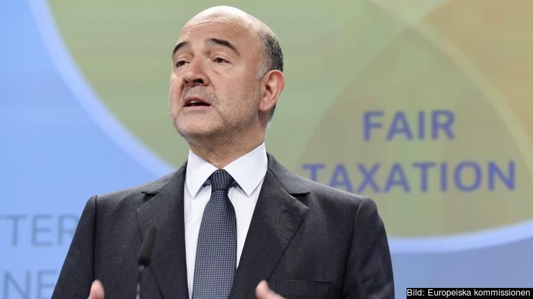 EU:s skattekommissionär Pierre Moscovici.