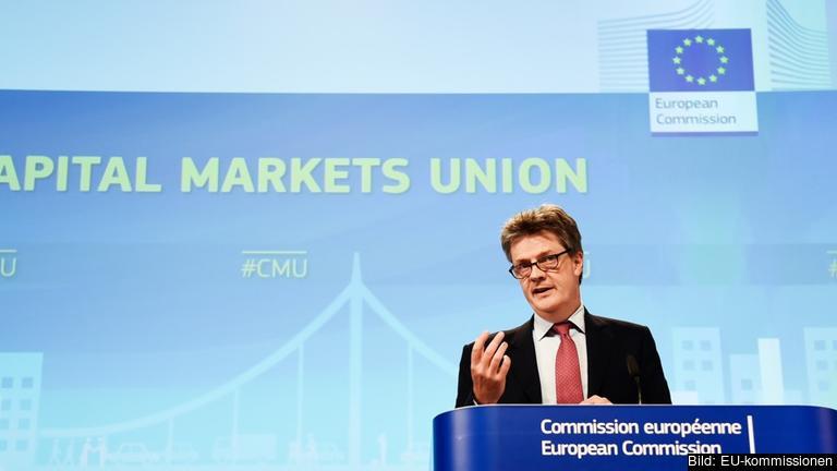 EU:s finansmarknadskommissionär Jonathan Hill.